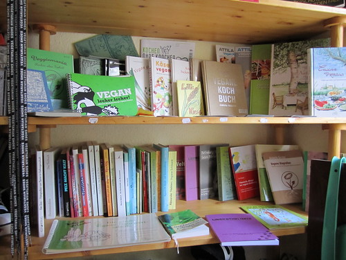 Vegan Books | by veganbackpacker