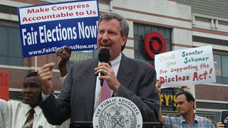 August 10, 2010 - Target Rally with MoveOn.org | by Public Advocate Bill de Blasio