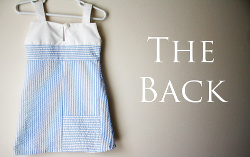 Back of the Mod Sailor Dress | by ohsohappytogether