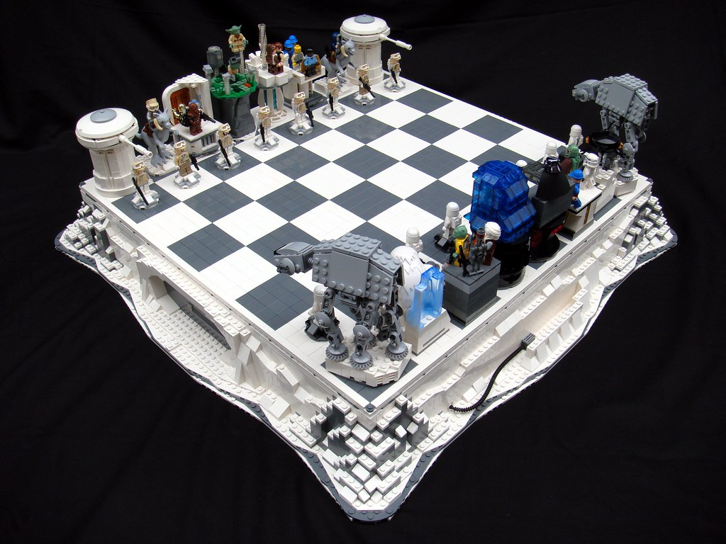 Star Wars The Empire Strikes Back Lego Chess Flickr