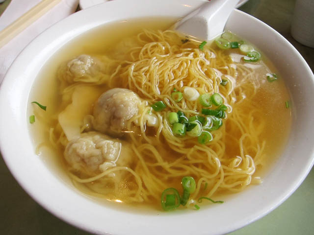 03 Wonton Noodle Soup - foods to try in hong kong