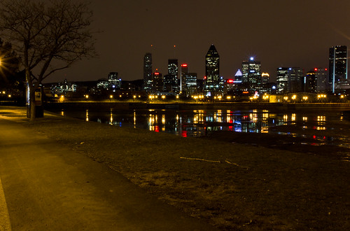 Bike Path in Montreal no2 | by Oddition