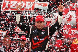 Fans can now follow Verizon Team Penske driver, Will Power, on Twitter @12WillPower | by IndyCar Series