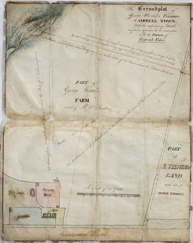 The scene of a crime, 1826 | by State Records NSW