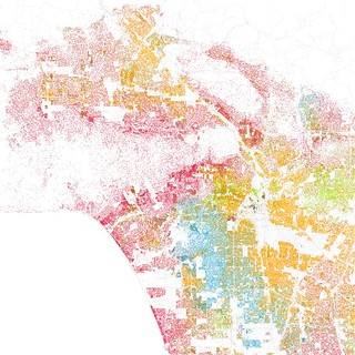 Race and ethnicity: Los Angeles | by Eric Fischer