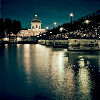 Au Pont des Arts | by Marc Benslahdine