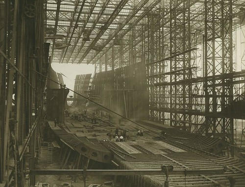Mauretania Build | by Tyne & Wear Archives & Museums