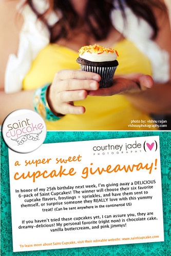 Saint Cupcake Giveaway!!! | by courtney  jade