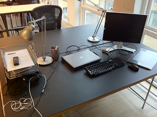 "First day at the new job. They give me a Dell laptop, a Dell monitor and a landline phone. ""Welcome!"" 