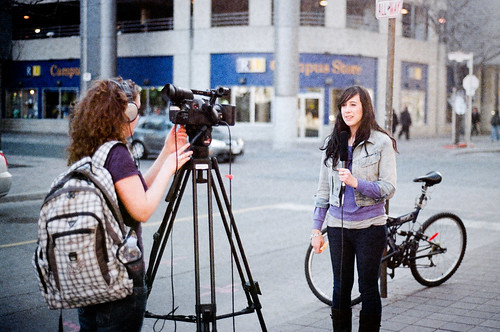 This is Hilary Hagerman, for RyersonianTV | by angietorres