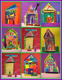2nd grade Heidelberg Houses | by artsy_T