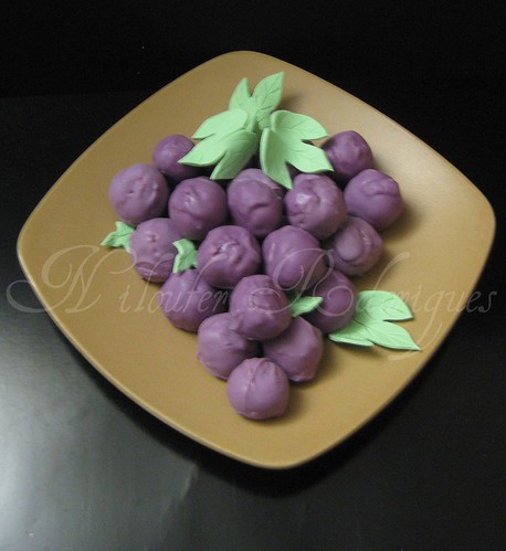 Grapes - Cake Balls | by Nilos Bake shop