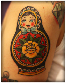 Russian Doll from Valerie Vargas | by momokoplush