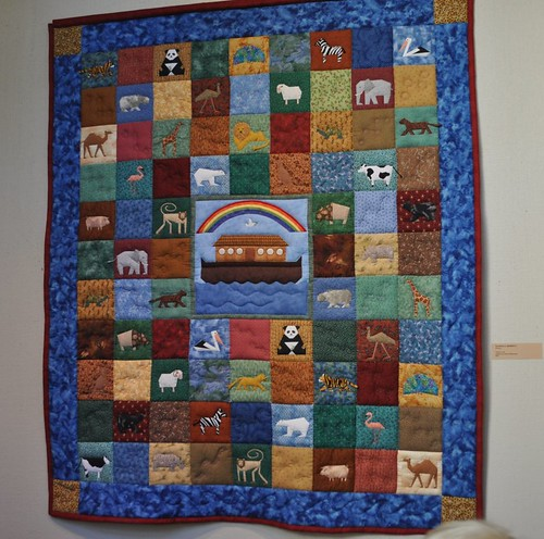 Noah's Ark quilt, SMofA quilt show 2010 | by vickivictoria