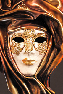 Venetian Carnival Mask - Maschera di Carnevale - Venice Italy - Creative Commons by gnuckx | by gnuckx