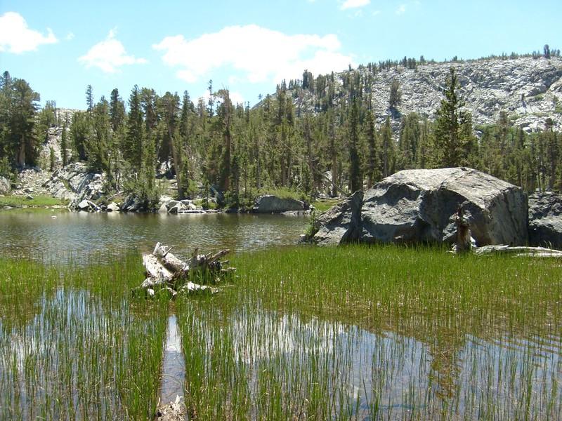 Small Lake northwest of Gem Lake