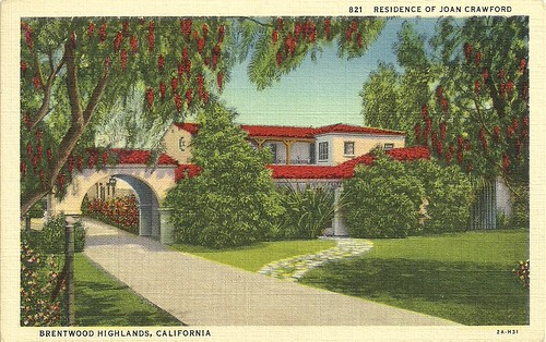 House of Joan Crawford, Brentwood, LA
