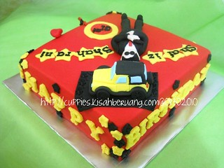shafiz 007 bday cake | by mamapasha