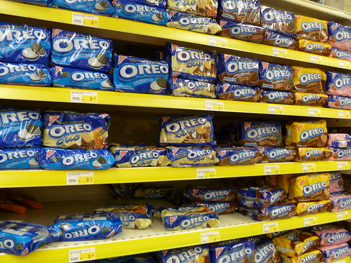 Oreos and Chips Ahoy by Kraft Nabisco in a grocery store in Lima Peru | by David Berkowitz