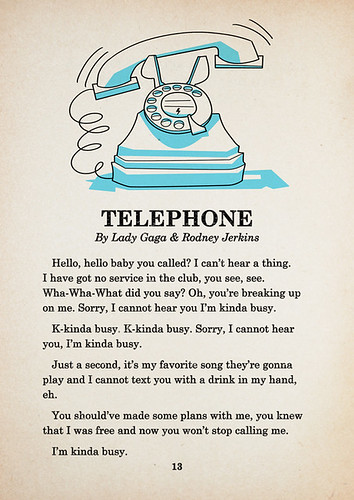 Telephone - Page 1 | by kolbisneat