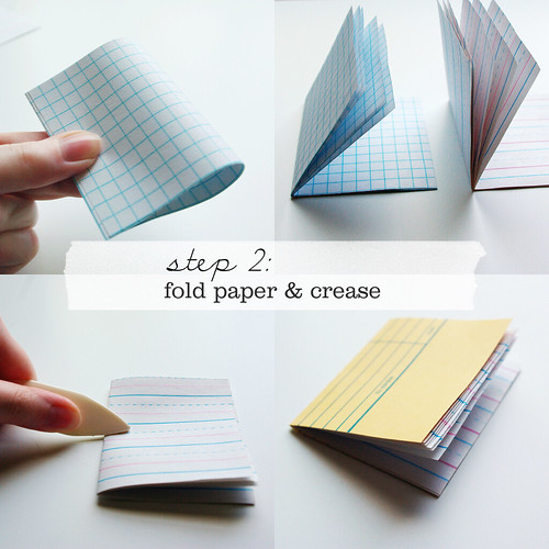 Little Library Card Notebooks - Step 2 | by packagery