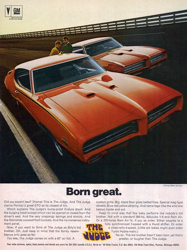 1969 Pontiac GTO Judge and GTO - Carousel Red | by coconv