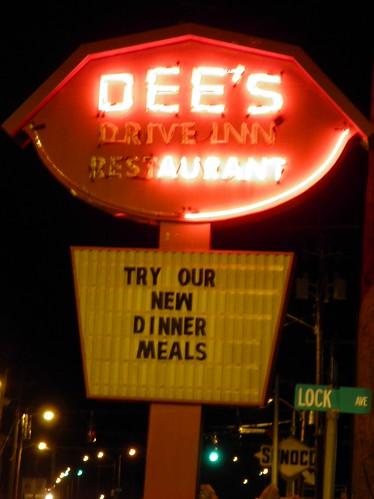 Dee S Restaurant Menu Dover Ohio