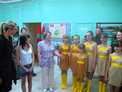 Tennis champion Maria Sharapova visiting children in Belarus4 | by United Nations Development Programme