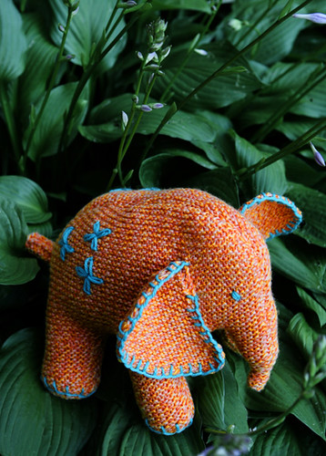 Flo the Elephant, Knitty First Fall 2010 | by panopticon