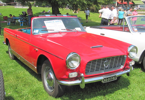 20100606 Uriage Isère - Uriage Cabriolet Classic Lancia Appia convertible Vignale (1963)-2