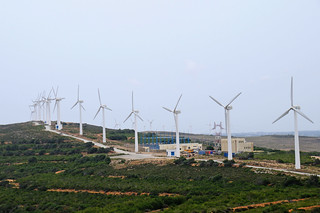 Wind turbine farm | by World Bank Photo Collection