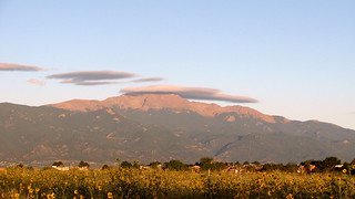 Lenticular cloud over Pikes Peak | by kafski