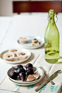 Fresh Figs & Financiers | by tartelette