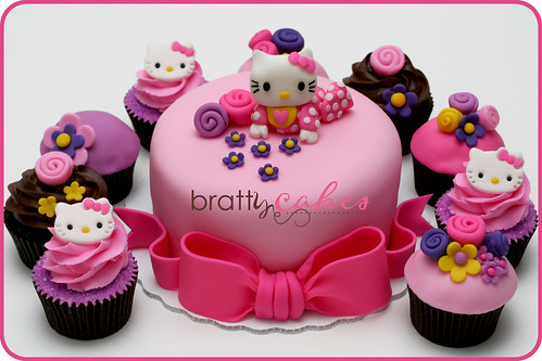 Hello Kitty Baby Shower | by Natty-Cakes (Natalie)