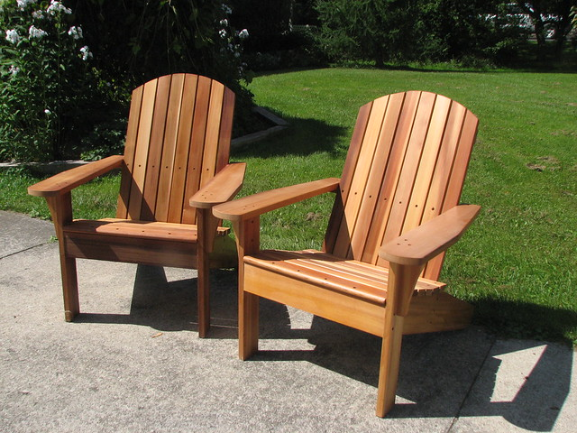 Two More Muskoka Chairs