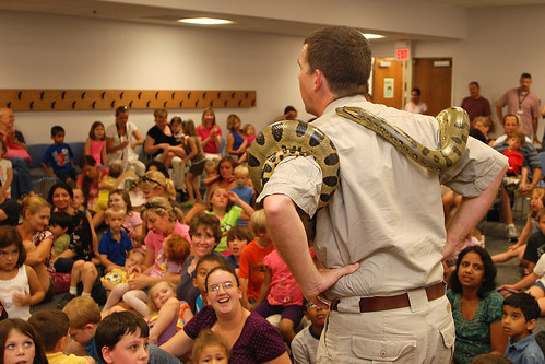 The Reptile Experience w/ Serengeti Steve 7.2.10 | by slcl events