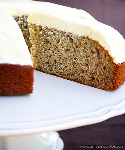 Banana Cake with White Chocolate Cream Cheese Frosting | by Citrus and ...
