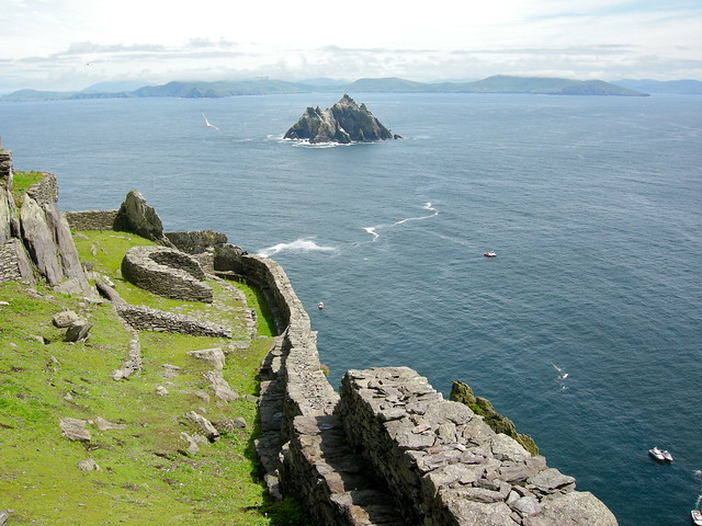Little Skellig from Skellig Michael
