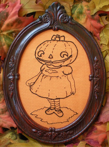 Poppy's Pumpkin Girl | by xperimentl