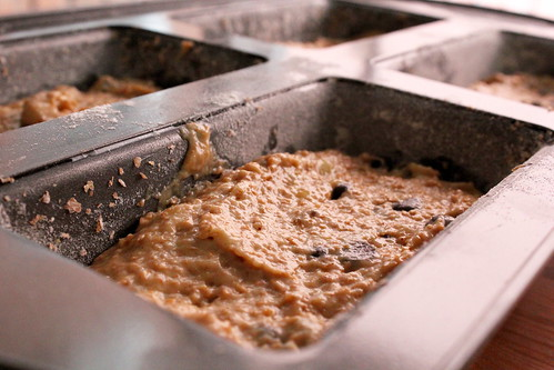 banana bread batter | by pastryaffair