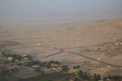 Balloon flight over the Valley of the Kings