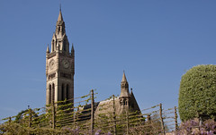 England - Cheshire - Eaton Hall - Chapel and Clock Tower - 24th April 2011 -6.jpg