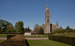 England - Cheshire - Eaton Hall - Chapel and Clock Tower - 24th April 2011 -19.jpg