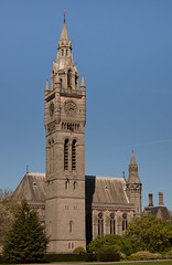 England - Cheshire - Eaton Hall - Chapel and Clock Tower - 24th April 2011 -18.jpg