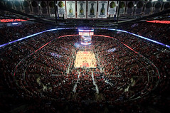 United Center from Above