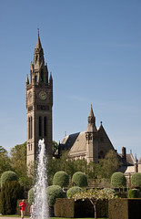 England - Cheshire - Eaton Hall - Chapel and Clock Tower - 24th April 2011 -10.jpg