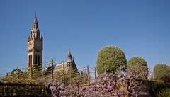 England - Cheshire - Eaton Hall - Chapel and Clock Tower - 24th April 2011 -5.jpg