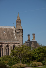 England - Cheshire - Eaton Hall - Chapel and Clock Tower - 24th April 2011 -25.jpg
