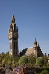 England - Cheshire - Eaton Hall - Chapel and Clock Tower - 24th April 2011 -9-2.jpg