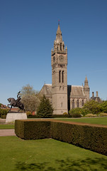 England - Cheshire - Eaton Hall - Chapel and Clock Tower - 24th April 2011 -17.jpg
